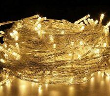 LED Christmas Lights Garland 9FT Xmas String Fairy Fireplace Tree Decoration