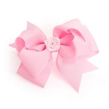 Arco de la cinta de grandes Rosa Bebé Clip Cabello RRP £ 2.50 - a estrenar con las etiquetas