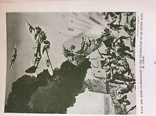 m17a4 ephemera 1920s book plate r a f destroy enemy fort in libya