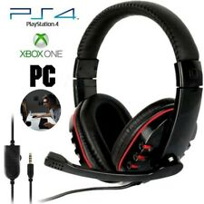 3.5mm Wired Gaming Headset Headphone For PS4 Xbox One Nintendo Switch PC