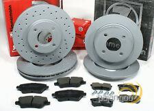 Ford Fiesta 6 VI ST - Zimmermann Bremsscheiben Bremsbeläge für vorne hinten