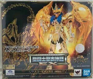 Saint Seiya Myth God Cloth Ex Scorpio Milo Scorpion Soul Of Gold Bandai Tamashii