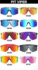 2020 Hot Pit Viper Sport TR90 Polarized Sunglasses Cycling Outdoor Travel+Box
