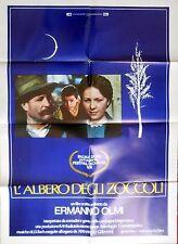 manifesto movie poster 2F L'albero degli zoccoli Ermanno Olmi luigi ornaghi