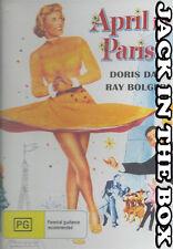 April In Paris DVD NEW, FREE POSTAGE WITHIN AUSTRALIA REGION ALL