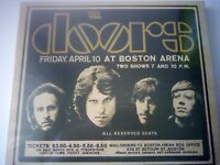 THE DOORS - LIVE IN BOSTON 3 CD SET NEW AND SEALED 2007 RHINO
