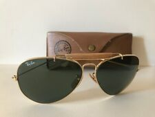 Original Vintage Ray-Ban Bausch&Lomb USA Outdoorsman Gold/ G15 Mit Etui