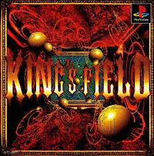 King's Field 1, Playstation One PS1, Import Japan Original Game and Manual