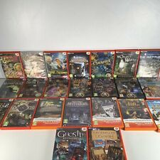 Trabajo-Lote paquete 23X GSP 4 Play fantasmal COLLECTION PC CD DVD ROM juegos de video