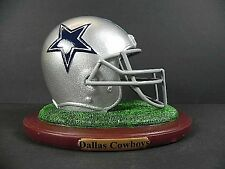 Dallas Cowboys replica casco en base, NFL football poly Helmet, nuevo, 550 gr.