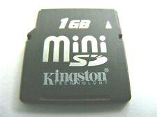 1GB MiniSD / 2GB Mini SD / 4GB Mini SDHC Card  gebraucht