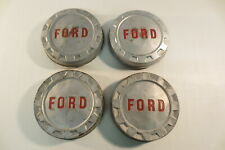 1960's Ford F250 Pickup Truck Poverty Bottlecap Dog Dish Hub Caps Wheel Covers