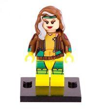 Rogue X-Men movie Minifigure figure tv show cartoon comic yellow outfit