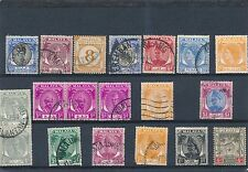 Malaya mixed stamp collection to $1 value HPS2