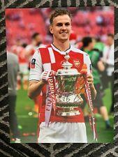 Arsenal Rob Holding Autographed Signed 11x14 Photo Coa #2