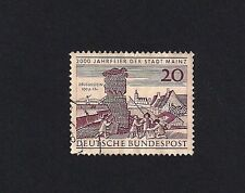 German Stamp 1962 The 2000th Anniversary of Mainz (E3)