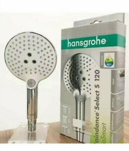 Hansgrohe Ecosmart Raindance Select S 120 3jet hand shower white/chrome 26531400