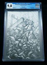 IMAGE COMICS WALKING DEAD #1 CGC 9.8 15TH ANN BLIND BAG FINCH VIRGIN COVER D