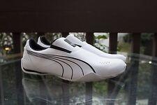 New PUMA Men's Redon Move Slip-On Fashion Sneaker,White/Black Size 9.5
