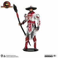 Raiden Bloody White Hot Fury Mortal Kombat McFarlane Toys BNIB Same Day Postage