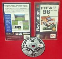 FIFA SOCCER 96 Playstation 1 2 PS1 PS2 Game Complete Works Long Box LONGBOX
