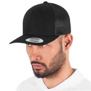 RETRO TRUCKER CAPS ~ PLAIN OR PRINTED - ANY TEXT/LOGO/IMAGE - Rapper, Hip Hop
