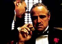 THE GODFATHER Movie PHOTO Print POSTER Marlon Brando Textless Art Corleone 007