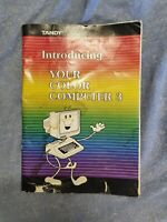 Tandy Introducing Your Color Computer 3 Manual