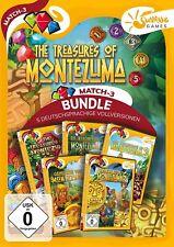 Treasures of Montezuma 1-5 Sunrise Games PC Spiel Zeitmanagement Neu & OVP