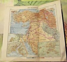 1962 Carte & Image Asie Proche Orient Syrie,Arababie Glacier de l'Erciyas Dagi