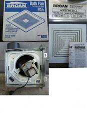 NEW BROAN MODEL 688 BATH VENTILATION FAN