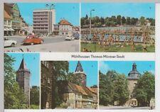 (102028) AK Mühlhausen (Thür.), Mehrbildkarte 1976