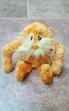 "Dr Seuss THE LORAX 6"" Mini Small Plush Manhattan Toy Stuffed Animal EXC"