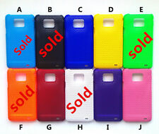 2 x Mesh Hard Case Cover for SAMSUNG i9100 Galaxy S 2