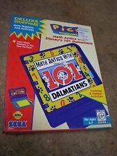 Sega Pico Deluxe Children Learning Book Game Math Antics 101 Dalmatians Disney
