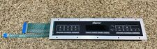Dacor Duel Oven Range Touch Pad 62310 Excellent Condition!