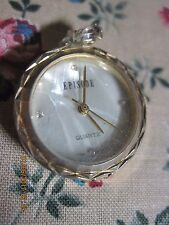 VINTAGE GOLD & CRYSTAL MOP EPISODES A CLASSIC TIME PIECE WATCH..HARVEST  14R