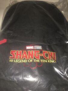 Shang Chi Marvel  Rare Press Kit Back Pack New