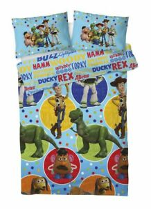 Disney Toy Story 4 Bedding Set Reversible Single Duvet Cover With Pillow Case