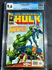 INCREDIBLE HULK #449 CGC 9.6 direct edition Wht pgs  THUNDERBOLTS 1st appearance