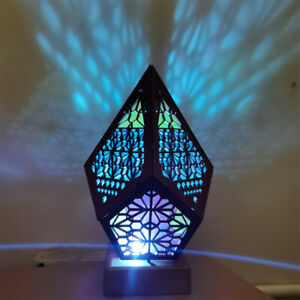Bohemian Colorful Table Bedside Starry Sky Floor Projection LED Lamp