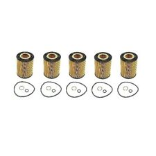 Set Of 5 Oil Filters Hengst 11427511161A For BMW E53 E60 E63 E65 E66 645Ci 745Li