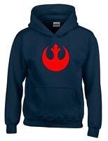 Rebel Alliance Star Wars Movie Inspired Mens Hoodie
