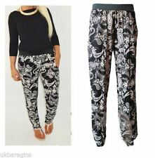 Viscose Other Casual Mid Rise Trousers for Women