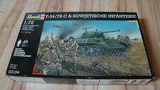 Revell: T-34 & sowjetische Infanterie