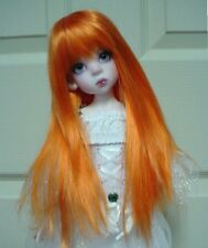 "Doll Wig, Monique Gold ""Faith"" Size 6/7, Orange"