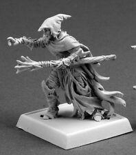Dark Elf Sorcerer Reaper Miniatures Warlord Darkreach Wizard Mage Spell Caster