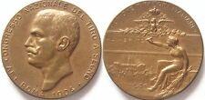 medaglia al merito tiro a segno Roma 1904 re vitt. Emanuele III