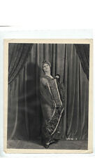 "Medea Radzina in de Mille's ""The Bedroom Window"" ORIGINAL photograph"