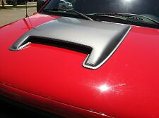 2006 - 2009 Dodge Ram 2500 Laramie Smooth Single Carbon Fiber Hood Scoop